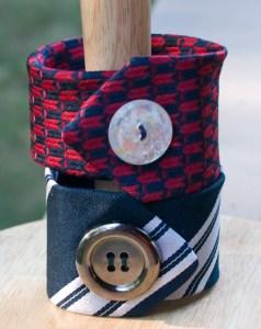 Neck Tie Cuff Bracelet
