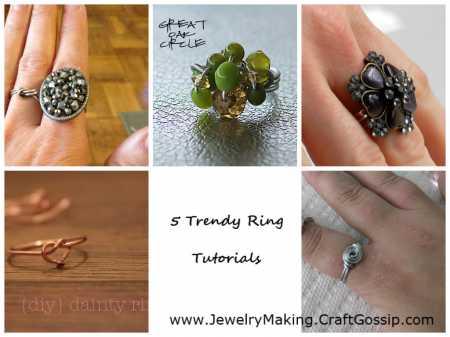 5 Trendy Rings