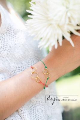 DIY Kate Spade Tiny Shape Bracelets