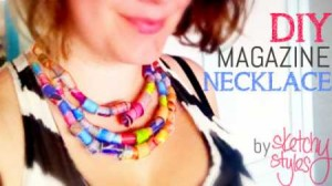 Magazine Necklace