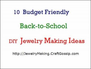 Back to School Jewelry