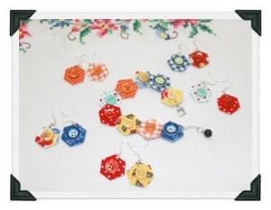Hexie Button Jewelry
