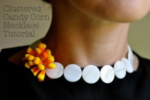 Candy Corn Necklace