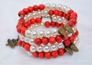 The Candy Cane Bracelet