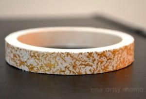 Gold Speckled Bracelet