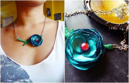 rose-necklace-diy