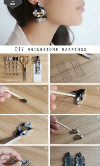 DIY_wander_and_hunt_rhinestone_earrings