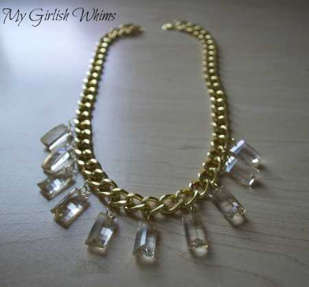 Gold Chain DIY Necklace