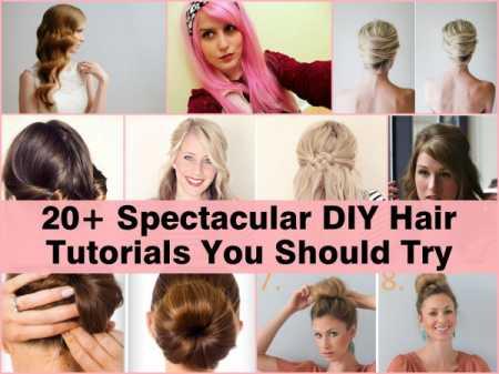 20+ Hair Tutorials