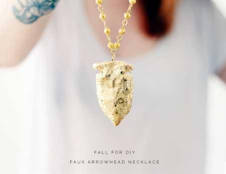 Fall-For-DIY-faux-Arrowhead-Necklace-tutorial