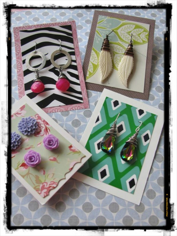 Diy Earring Cards That Won T Break Your Budget