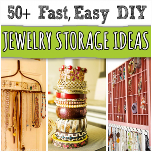 50 storageideas  sc 1 st  Jewelry Making & Jewelry Storage Ideas That Are Fast and Easy To Make Yourself
