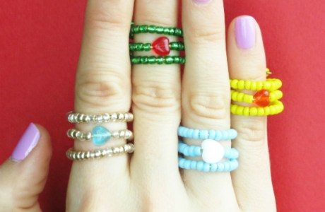 Easy DIY Rings for beginners