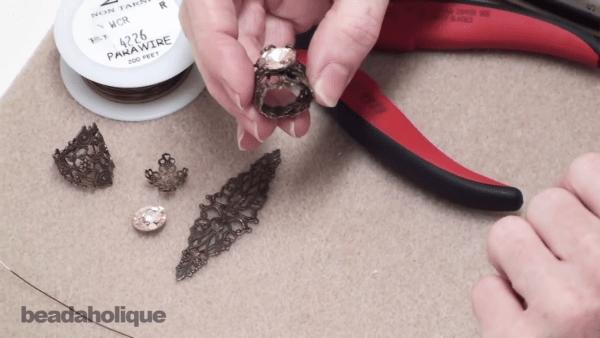 Make A Adjustable Filligree Ring