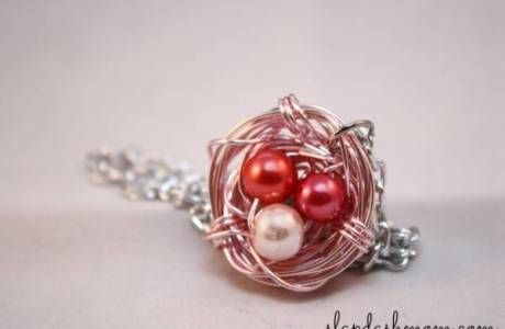 Birds Nest Necklace Tutorial