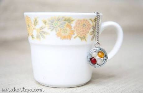 DIY Birthstone Necklace