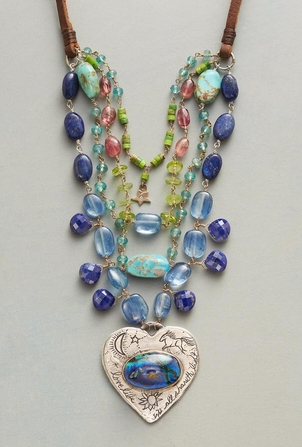 How to Make a Boho Layered Necklace in an Afternoon