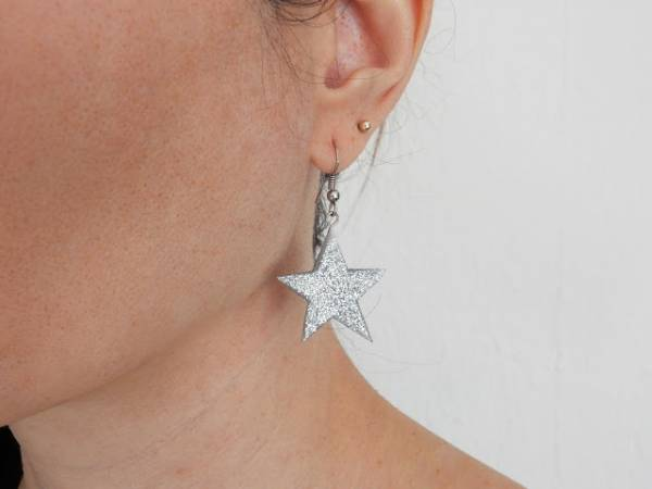 DIY Sparkly Earrings and Accessories