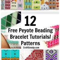 12 Free Peyote Beading Patterns