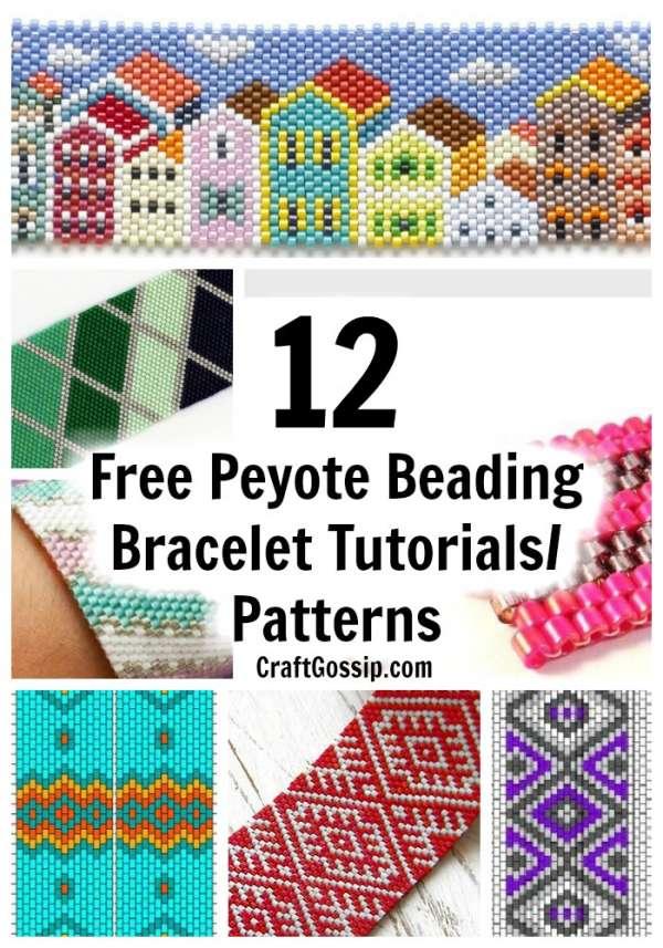 bead pattern peyote stitch peyote bracelet pattern beading digital file avenoth #P015P peyote pattern pdf pattern jewelry pattern