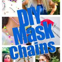 16 DIY Face Mask Chains You Can Make At Home