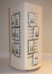Spinning Shutters: DIY Earring Display  Jewelry Making ...