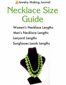 Necklace size chart jewelry making journal also  rh jewelrymakingjournal