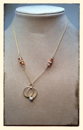 Heirloom Wedding Rings Necklace Jewelry Making Journal
