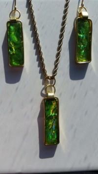 Spring Green CD Jewelry  Jewelry Making Journal