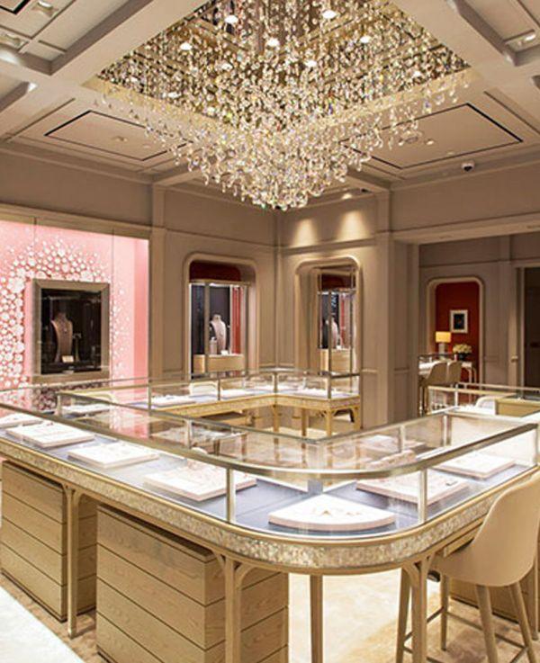 High End Diamond Jewelry Store Display Showcase Depot