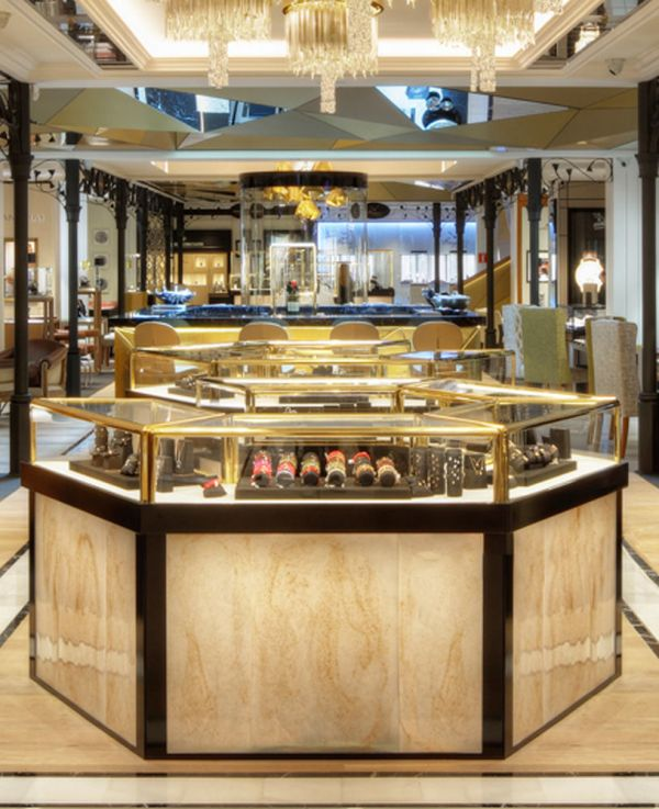 High End Luxury Jewellery Store Display Cabinets Jewelry Showcase Depot