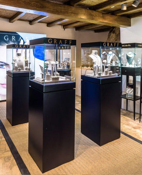 Luxury Jewelry Display Pedestals Showcase Depot
