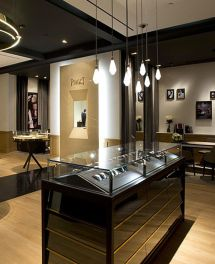 Luxury Watch Store Interior Design Jewelry Showcase Depot