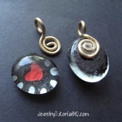 DIY Nail Polish Heart Pendant - Nail Polish Jewelry Tutorial