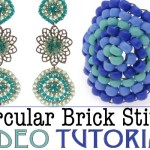 Circular Brick Stitch Video Tutorial