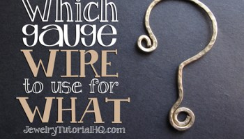 All about jewelry wire wire gauge sizes explained jewelry all about jewelry wire which gauge wire to use for what greentooth