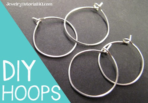 Learn how to make hoop earrings or wine charm rings in this video from JewelryTutorialHQ.com