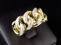 Mens Gold Pinky Rings