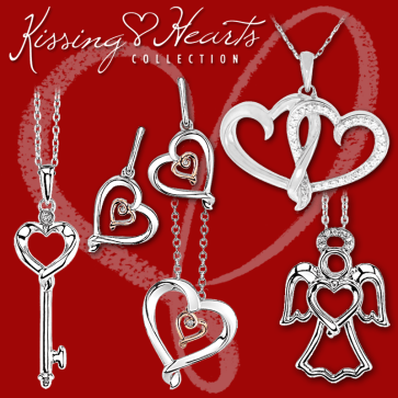 The Kissing Hearts Collection - Available in stores.