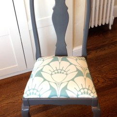 Queen Ann Chairs Navy Blue Dining Chair Makeover The Queens New Clothes Jewels At Home