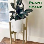 Diy Mid Century Modern Plant Stands Props To Plants Jewels At Home