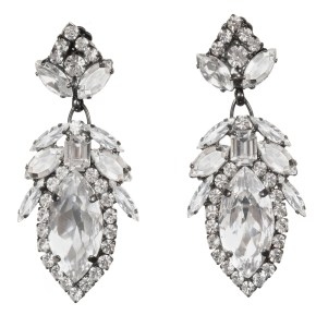 Alan Anderson Drop Earrings Crystal