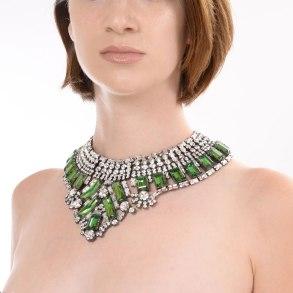Alan Anderson Architectural Collar Necklace Erinite