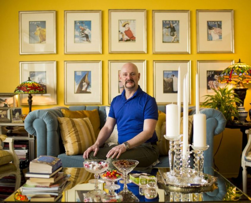 Alan Anderson at home