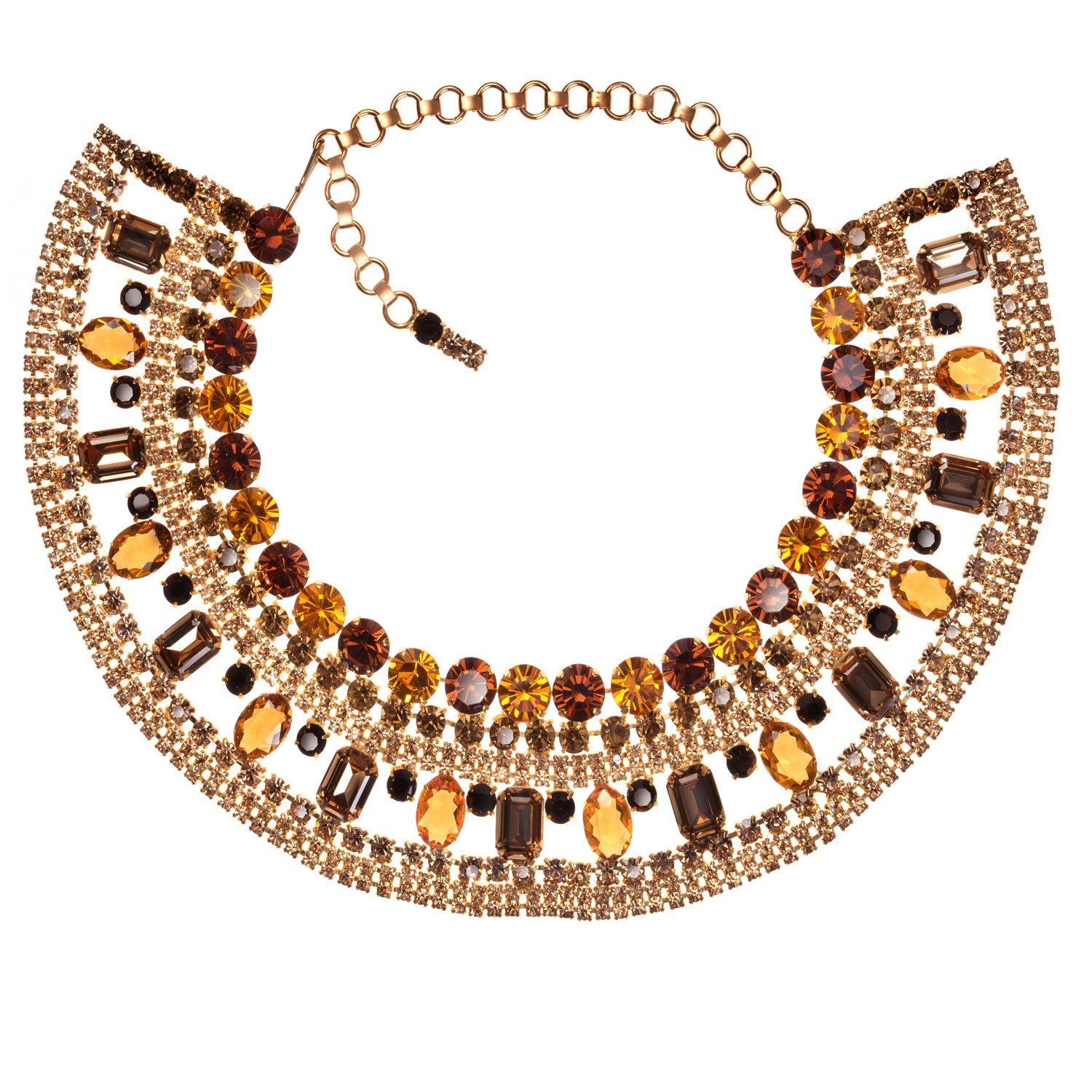 Topaz Cleopatra Collar Necklace ⋆ Jewels by Alan Anderson