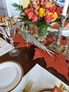 Table pheasants in residence