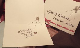 """Our main focus this year was to produce a line of cards that reminded people of the """"Reason for the Season"""""""