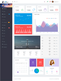 Hi5Dash - Bootstrap 4 Simple Admin Dashboard Template 1