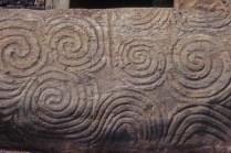 Newgrange Entrance Stone Spirals