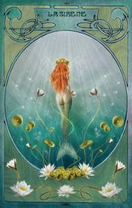 River Siren, Art Nouveau